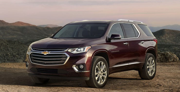 2018 Chevy Traverse Price
