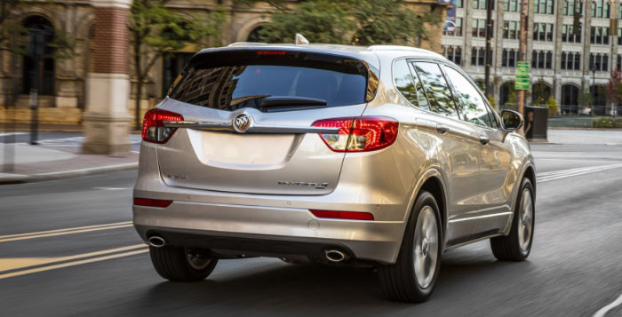 2018 Buick Envision Release Date