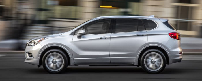 2018 Buick Envision Spec