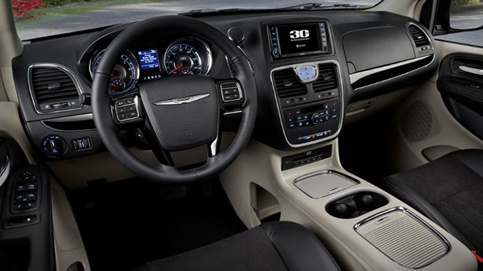 2018 Chrysler Town and Country Interior