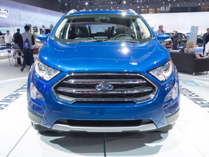 2018 Ford Ecosport Performance