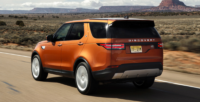 2018 Land Rover Discovery Spec