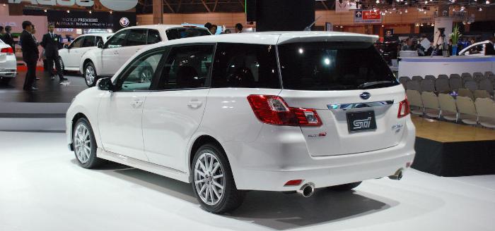 2018 Subaru Exiga Spec