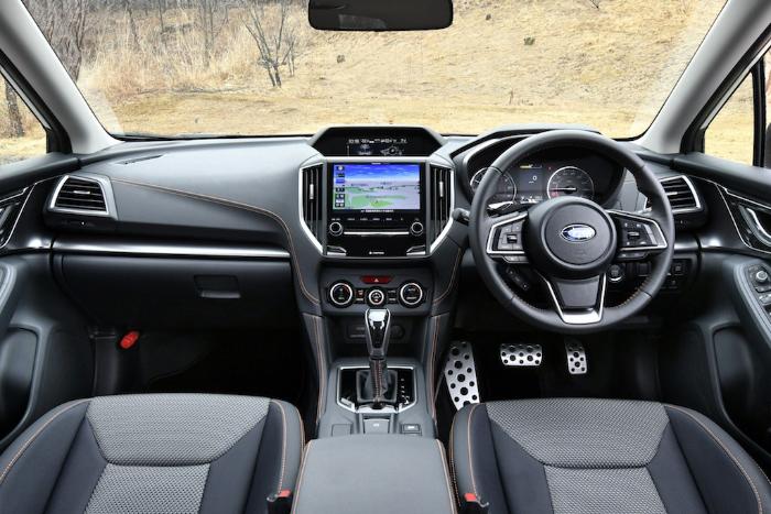 2018 Subaru XV Interior