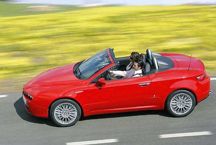 Alfa Romeo Spiders Spec