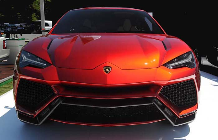 Lamborghini Urus 2018 Performance