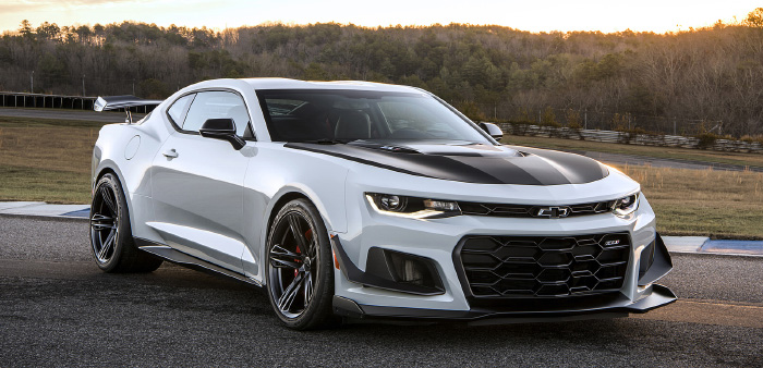 Upcoming Chevrolet Camaro ZL1 Has Ridiculously Long First ...