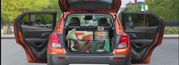 2019 Chevy Trax exterior cargo