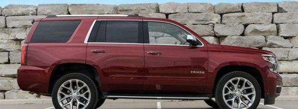 2019 Chevrolet Tahoe Hybrid side