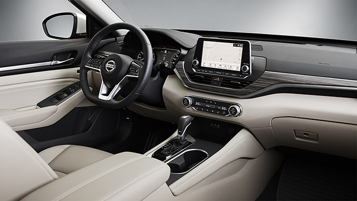 2019 Nissan Altima edition one interior