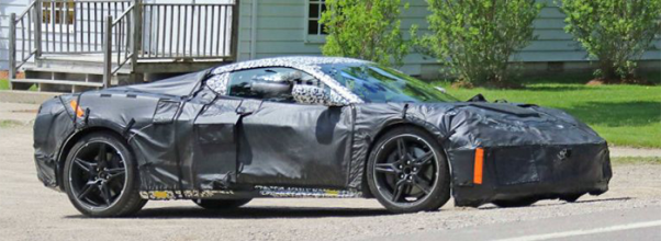 2020 Chevy Corvette spy shots