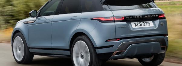 2020 Land Rover Evoque Exterior