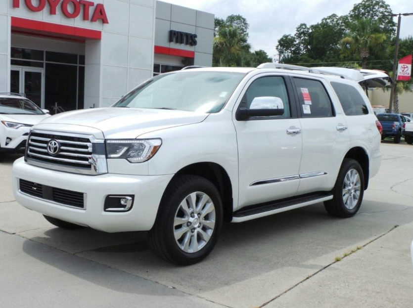 2020 Toyota Sequoia Redesign, Price & Release Date >> 2020 Toyota Sequoia Redesign Spied Release Date Price Auto Trend Up