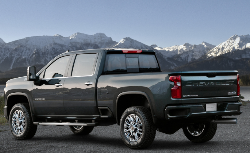 2020 Chevy Truck 2500 HD Exterior