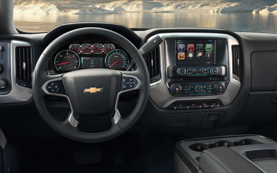 2020 Chevy Truck 2500 HD Interior