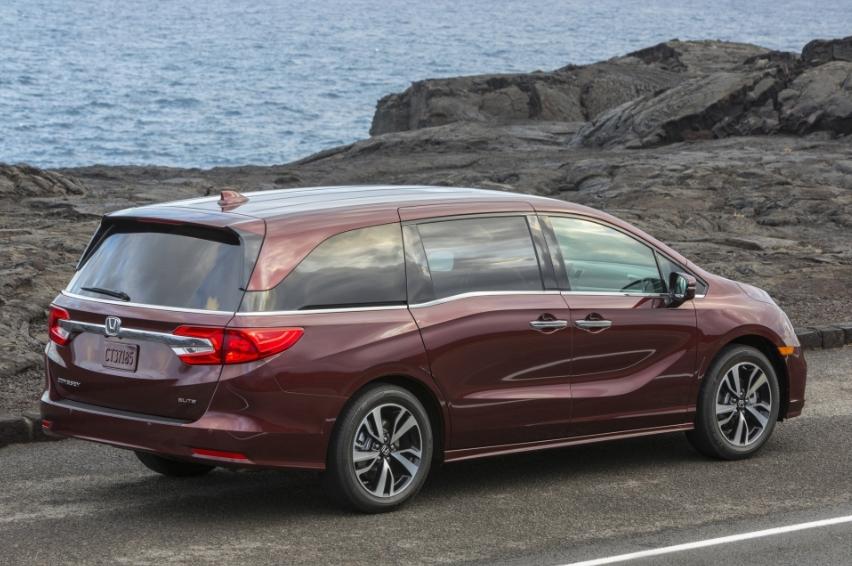 2020 Honda OdysseyTtype R Exterior