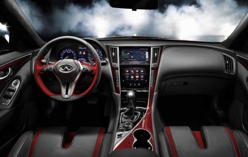 2020 Infiniti Q50 Red Sport Interior