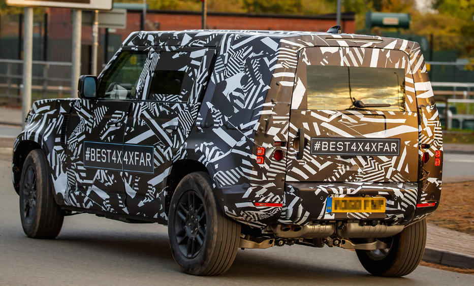 New 2020 Land Rover Exterior