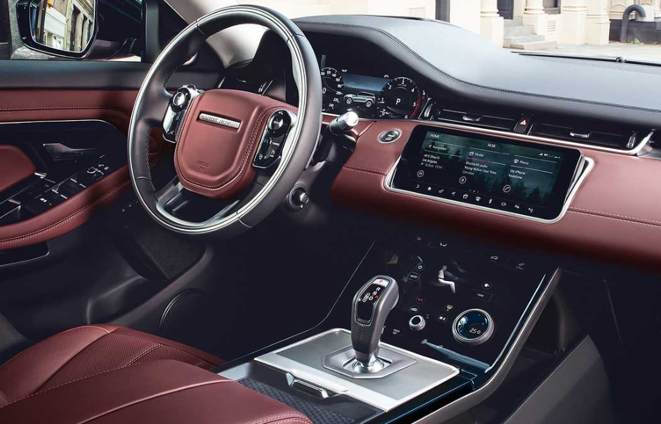 New 2020 Land Rover Interior