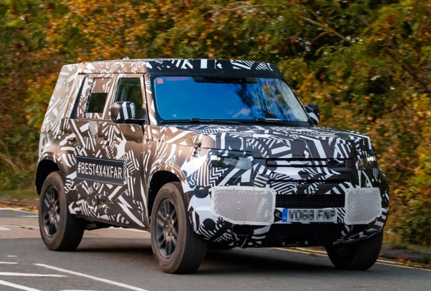 New 2020 Land Rover Redesign