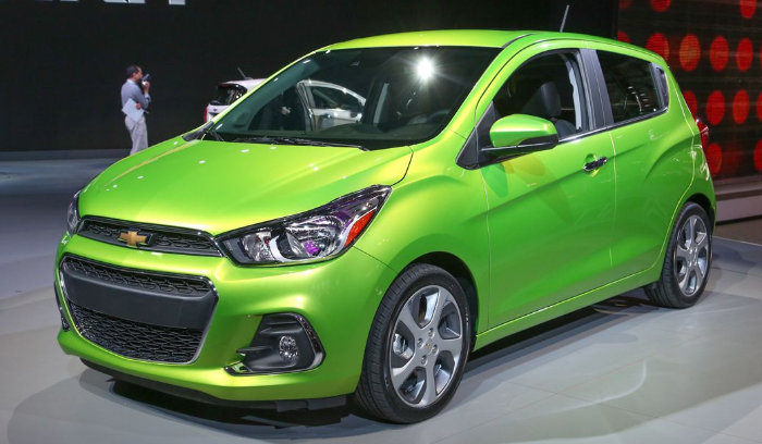 2020 Chevy Spark Redesign