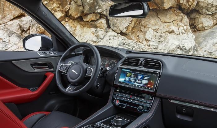 2020 Jaguar F-Pace Premium Interior