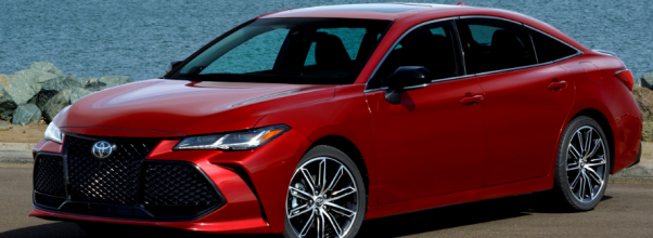 2020 Toyota Avalon Hybrid Redesign