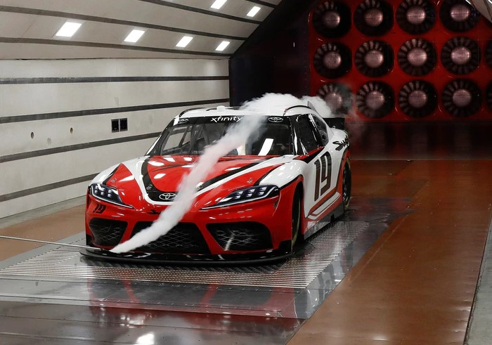 2020 Toyota Supra Xfinity Series Race Car Redesign