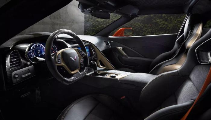 2020 Chevy Corvette ZR1 Interior