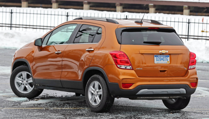 2020 Chevy Trax Exterior
