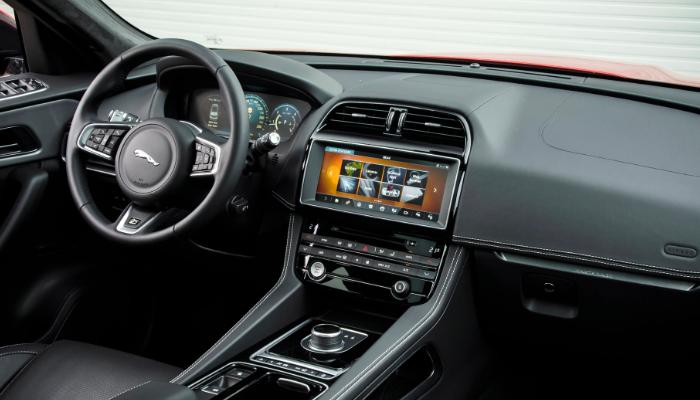 2020 Jaguar F-Pace Prestige Interior