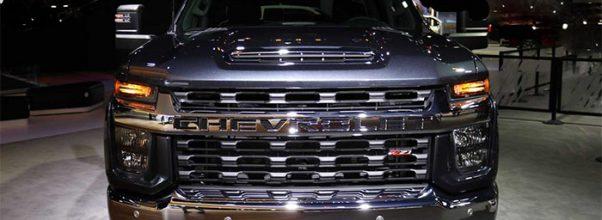 2021 Chevy Silverado front